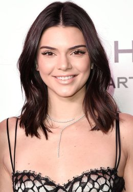 WEST HOLLYWOOD, CA - JANUARY 27: Kendall Jenner attends the Harper's Bazaar Celebrates 150 Most Fashionable Women - Arrivals at Sunset Tower on January 27, 2017 in West Hollywood, California. (Photo by David Crotty/Patrick McMullan via Getty Images)