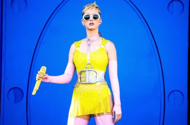 CARSON, CA - MAY 13: Katy Perry performs onstage during 102.7 KIIS FM's 2017 Wango Tango at StubHub Center on May 13, 2017 in Carson, California. (Photo by Rich Fury/Getty Images)